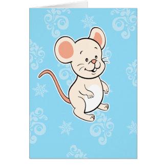 Tarjeta de Greetng del ratón