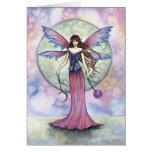 Tarjeta de hadas celestial gótica por Molly Harris