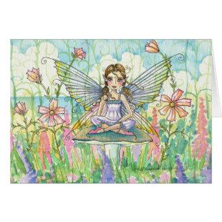 Tarjeta de hadas de la flor caprichosa por Molly H