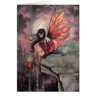 Tarjeta de hadas del arte del otoño gótico por Mol