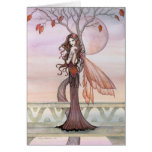 Tarjeta de hadas gótica por Molly Harrison