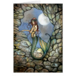 Tarjeta de hadas Notecard de la sirena por Molly H