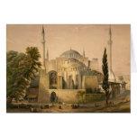 Tarjeta de Hagia Sophia