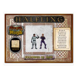 Tarjeta de Halfling Tarjetas Postales