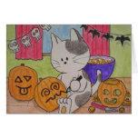 """Tarjeta de Halloween """"atajada """""""