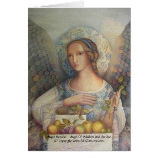 Tarjeta de Hamaliel del ángel