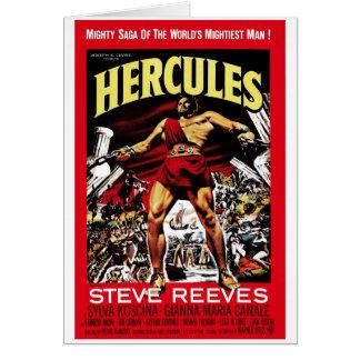 """Tarjeta de """"Hércules"""" 1958"""