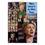 tarjeta de hillary Clinton