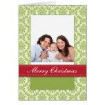 Tarjeta de imagen de /Baby de la familia del navid