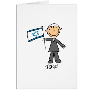 Tarjeta de Israel