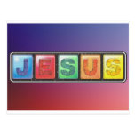 Tarjeta de Jesús Postal