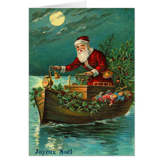 Tarjeta de Joyeux Noel