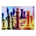 Tarjeta de juego de ajedrez