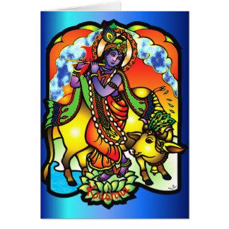 Tarjeta de Krishna