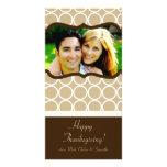 tarjeta de la acción de gracias de la FOTO del fol Tarjetas Con Fotos Personalizadas