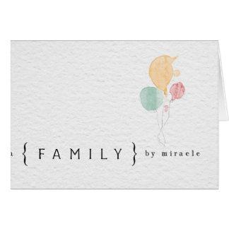 tarjeta de la adopción de los congatulations