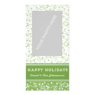 Tarjeta de la alegría del día de fiesta tarjeta fotográfica personalizada