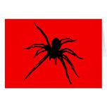 Tarjeta de la araña