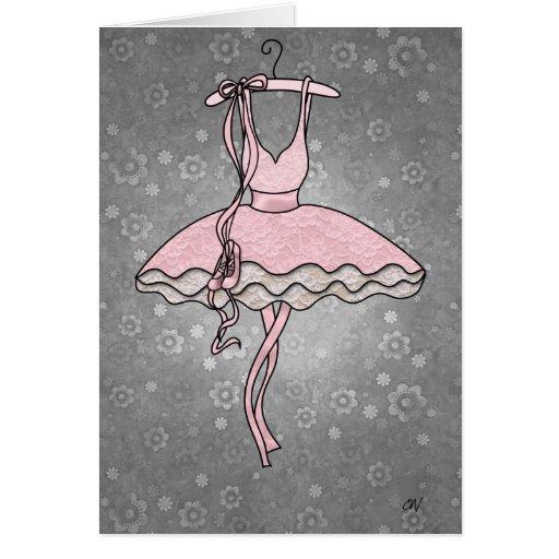 """""""Tarjeta de la bailarina de Prima"""""""