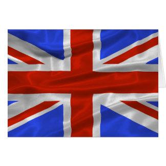 Tarjeta de la bandera de Reino Unido