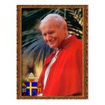 Tarjeta de la beatificación del rezo de Juan Pablo Tarjeta Postal
