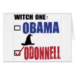 Tarjeta de la bruja de O Donnell