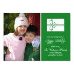 Tarjeta de la caja de regalo del navidad (buenas invitacion personal
