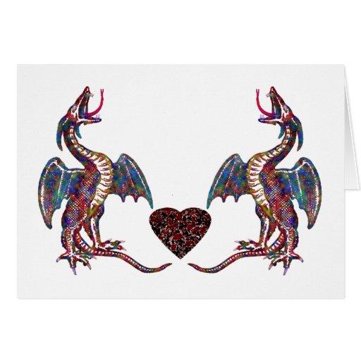 Tarjeta de la canción del dragón