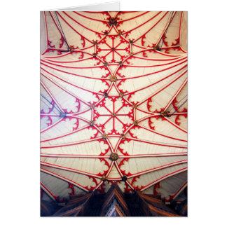 Tarjeta de la capilla de la universidad de Winches
