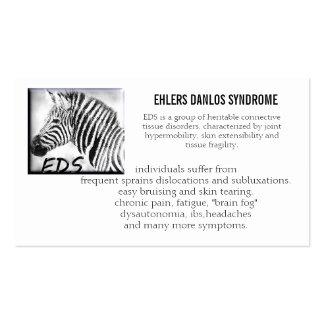 tarjeta de la cartera de los eds tarjetas de visita