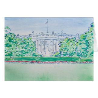 Tarjeta de la Casa Blanca