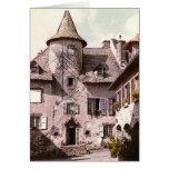 Tarjeta de la casa de Auvergne