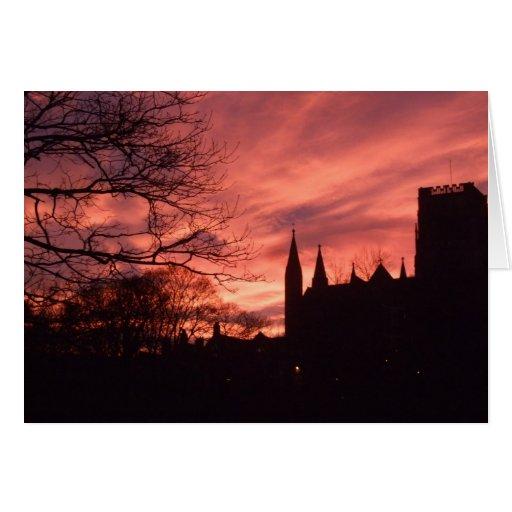 Tarjeta de la catedral de Durham