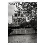 Tarjeta de la catedral de Notre Dame
