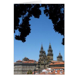 Tarjeta de la catedral de Santiago