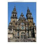 Tarjeta de la catedral de Santiago de Compostela