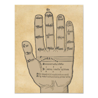 Tarjeta de la cita de la lección de música, mano invitación 10,8 x 13,9 cm