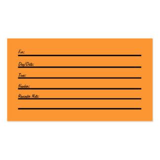 Tarjeta de la cita (nuevo y mejorado) plantillas de tarjeta de negocio
