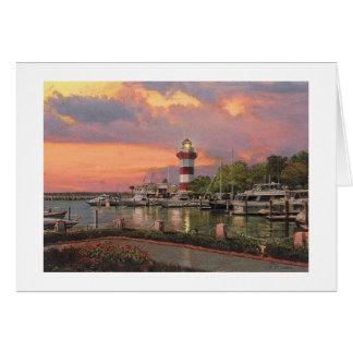 """Tarjeta de la ciudad del puerto de Paul McGehee """"H"""