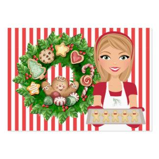 Tarjeta de la cocina del navidad 2 - SRF Plantilla De Tarjeta Personal
