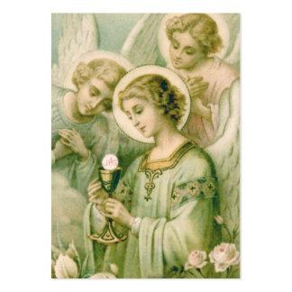 Tarjeta de la conmemoración: Mi alma Rends el velo Plantilla De Tarjeta De Visita