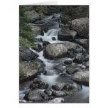 Tarjeta de la corriente del Parque Nacional de las