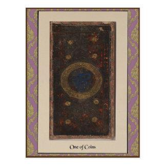 Tarjeta de la cubierta de Visconti Tarot - circa 1 Tarjetas Postales