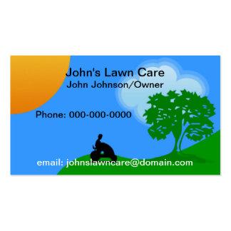 Tarjeta de la empresa de servicios del cuidado del tarjeta de visita