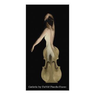 Tarjeta de la escultura de Gælatia de David Tarjeta Fotográfica Personalizada