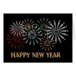 Tarjeta de la Feliz Año Nuevo