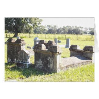 Tarjeta de la Florida de los sepulcros de la