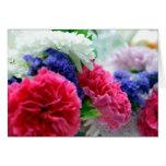 Tarjeta de la floristería