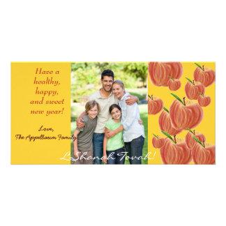 Tarjeta de la foto de Apple Rosh Hashanah del Tarjetas Personales Con Fotos