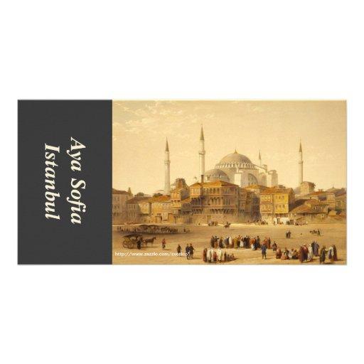 Tarjeta de la foto de Hagia Sophia Tarjeta Personal Con Foto
